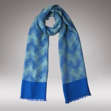 Cross Bleu Scarf